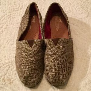 TOMS practically brand new.